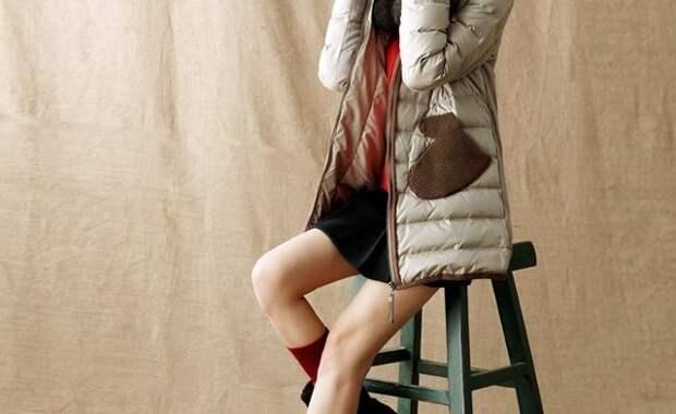 пальто с необычными карманами