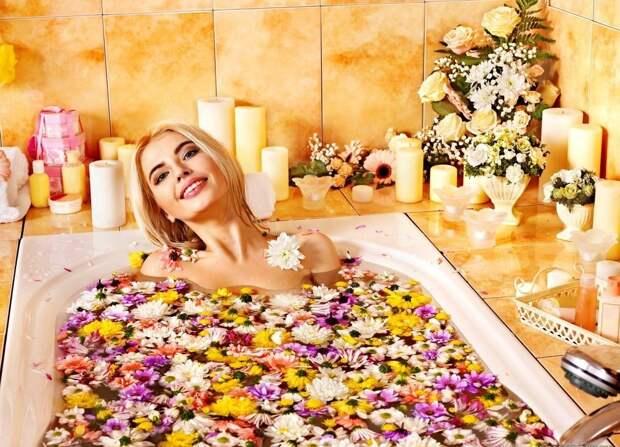 Полчаса для себя. Натуральная косметическая ванна