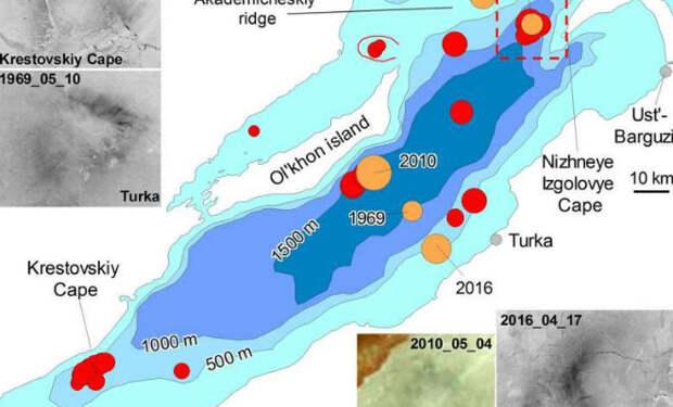 Байкальские круги: ученые разгадали странное явление во льду