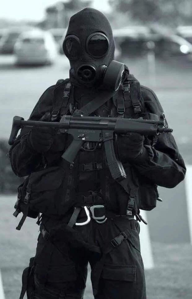 Мировые элитные войска, похожие на пришельцев