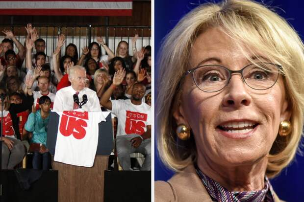 Betsy DeVos Overhauled Title IX To Benefit The Accused. Now, Biden Has To Decide What To Do Next.