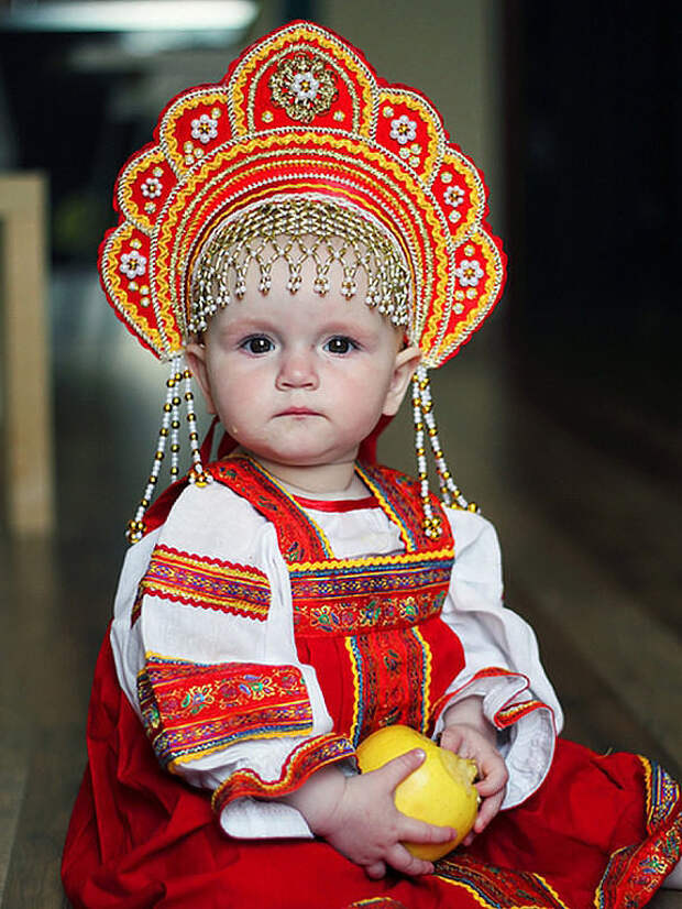 Маленькие русские красавицы. Оцените!
