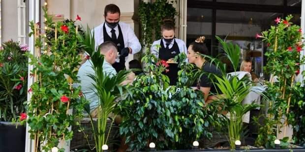 Рестораторы Москвы предложили мэру эксперимент по COVID-free зонам Фото: Ю. Иванко mos.ru