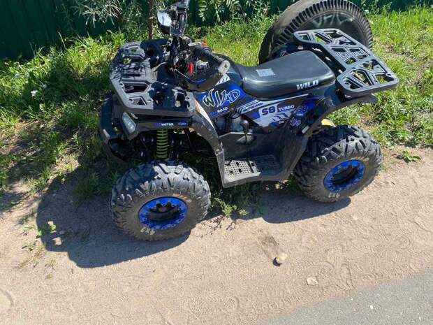 В Калининском районе был остановлен 7-летний водитель квадроцикла