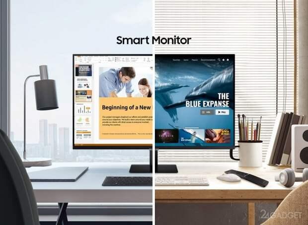 Samsung презентовала мониторы, способные работать без компьютера