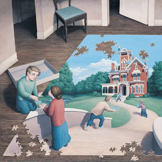 Роберт Гонсалвес - король оптических иллюзий