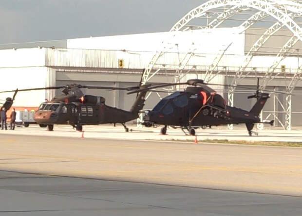 Турки показали «промежуточный» ударный вертолет
