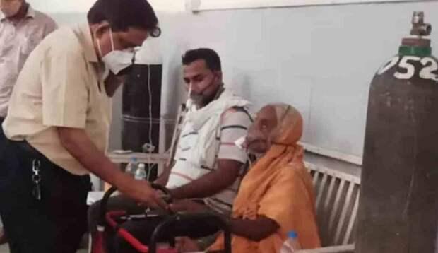 В Индии женщина с коронавирусом «ожила» за несколько минут до кремации