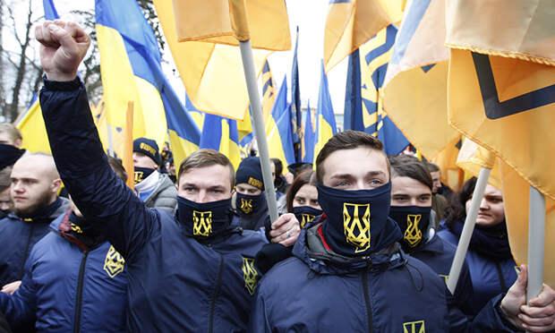 Донецкий спортсмен сорвал русофобскую акцию нацистов в центре Киева