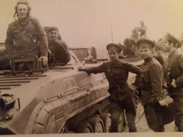 Офицеры 14-й мсд на учениях, ГСВГ, Ютербог, 1975 г.
