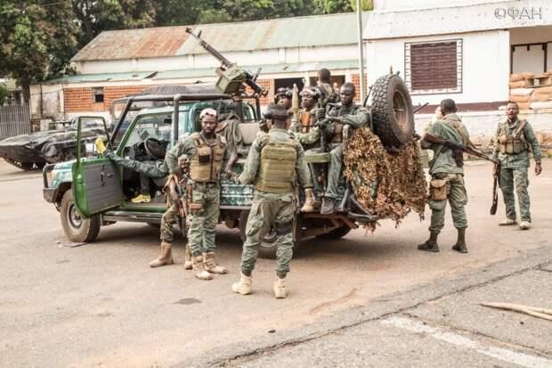 Премьер ЦАР поздравил армию с освобождением Боколобо