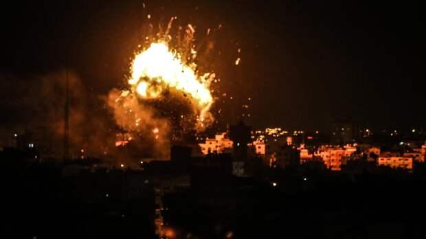 Десятки ракет были выпущены по Израилю в ответ на удар по Газе