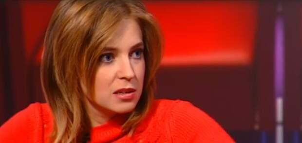 Поклонская объяснила либеральной журналистке разницу между белой лентой и георгиевской (видео)
