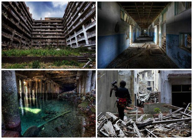 За несколько недель оживленный город стал призраком. /Фото: bigpicture.ru