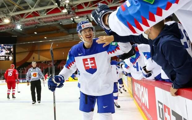 Россия уступила Словакии на чемпионате мира в Риге