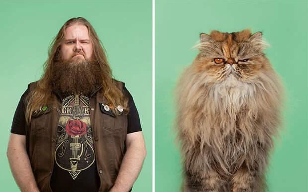 Фотограф делает снимки людей икотов, которые выглядят как двойники | Канобу - Изображение 5