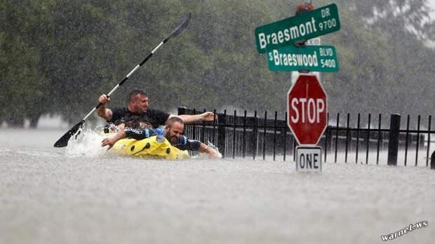 Ураган Харви в США: было — стало (фото)