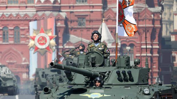 Парад по случаю 76-й годовщины Победы в Великой Отечественной войне начался в Москве