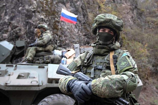 Российские миротворческие силы прибыли в районы Карабаха, где начались новые бои