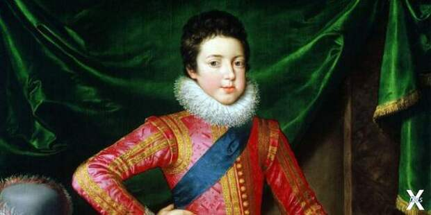 Портрет Людовика XIII в детстве, Фран...