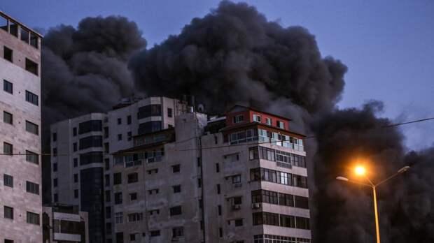 Израиль разбомбил офис Красного Полумесяца в Газе. События дня