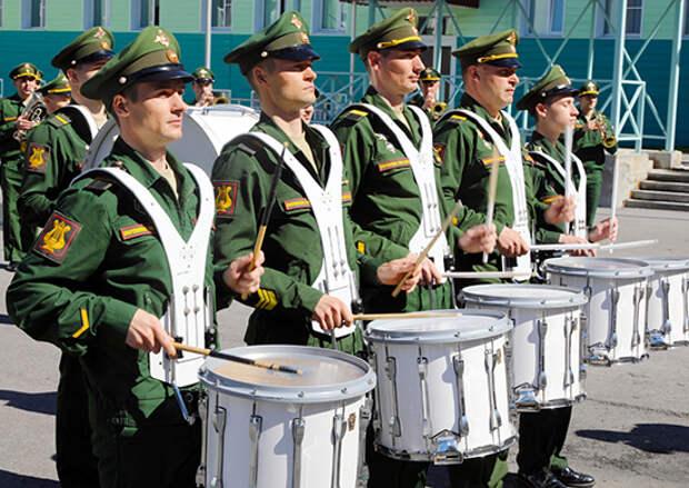 Военные оркестры войск ВВО примут участие в военно-музыкальном фестивале «Амурские волны»