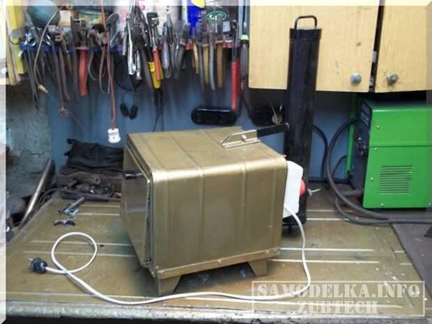 Электро коптильня и дымогенератор своими руками