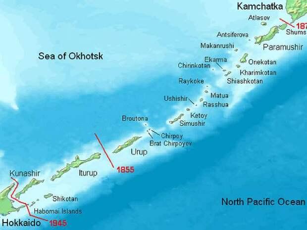 Kyodo: Власти СССР собирались передать часть Курил Японии 50 лет назад