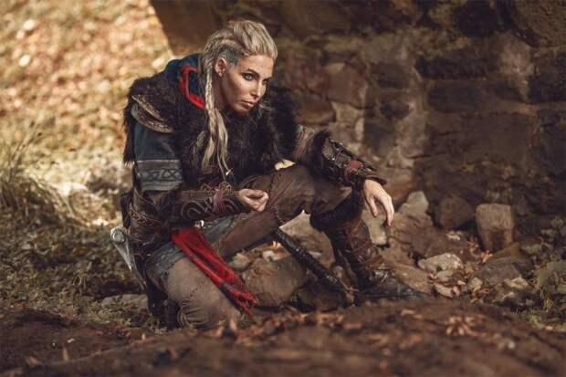 Годный косплей на Assassin's Creed Valhalla