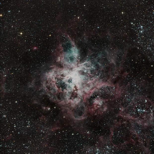Туманность Тарантул в Большом Магеллановом облаке Чили, Астрофото, Большое Магелланово облако, Туманность, Длиннопост, Звездное небо