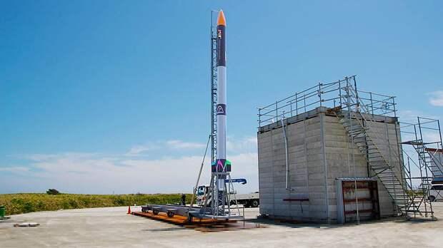 В Японии запустили первую частную ракету