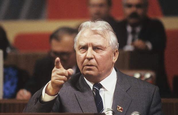 Бывший секретарь ЦК КПСС Лигачев скончался в возрасте 100 лет