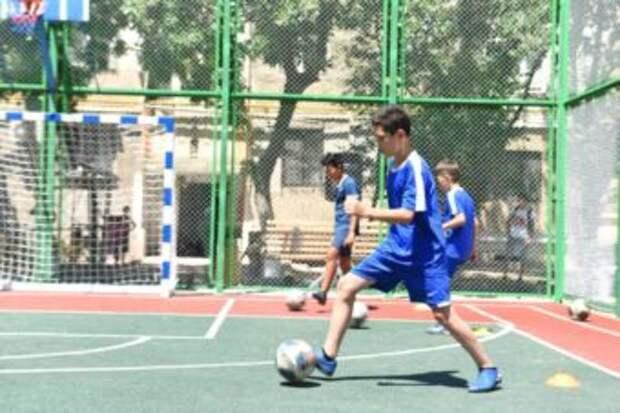 В Шымкенте открыли еще две спортивные площадки