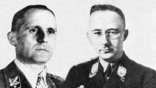 Генрих Гиммлер и Генрих Мюллер - «крёстные отцы» бандеровской УПА*