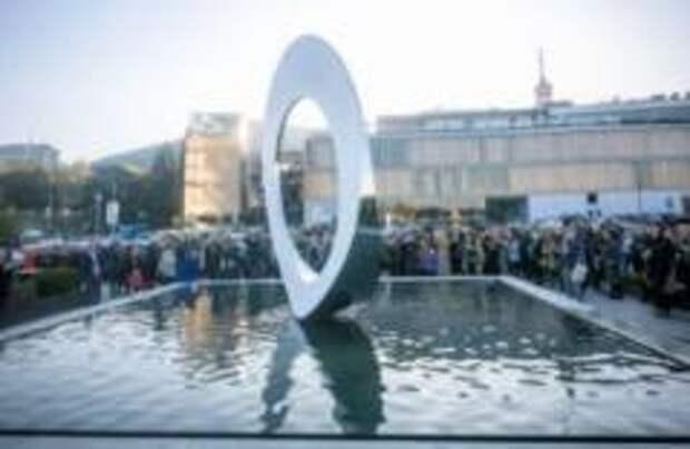 Новая необычная скульптура появилась в центре Тбилиси