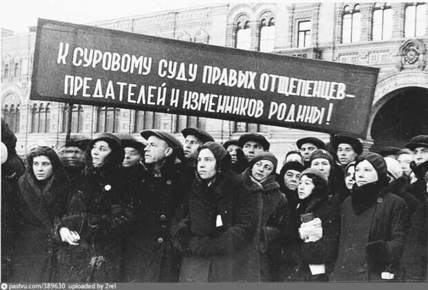 Коллективный портрет репрессированной Сталиным партноменклатуры