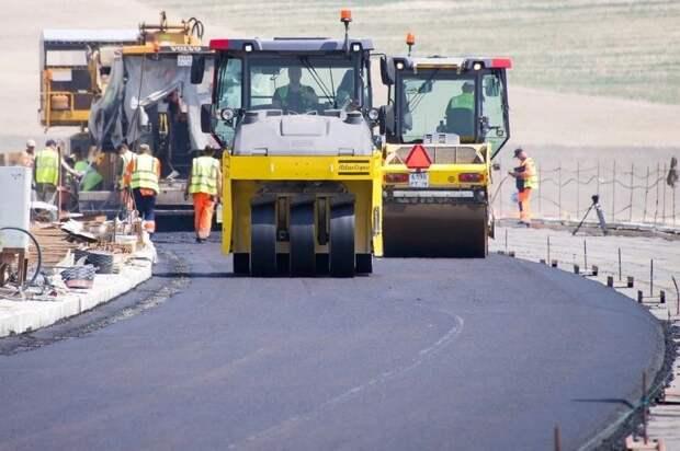 Раньше срока завершили ремонт дороги Доброе – Краснолесье в Симферополе