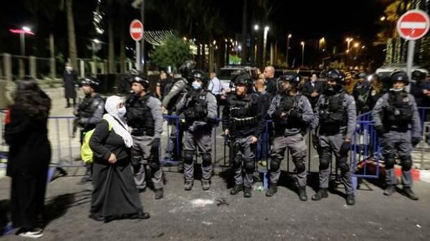 Число пострадавших вВосточном Иерусалиме палестинцев превысило 610 человек