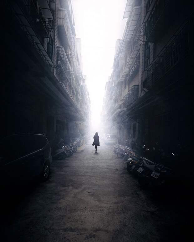 На улицах Тайбэя