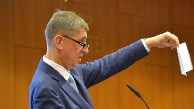 Премьер Чехии призвал сбросить градус напряжения в отношениях с Москвой