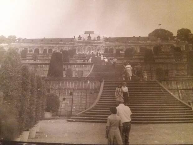 Дворец Фридриха Великого в Потсдаме - Сан-Суси