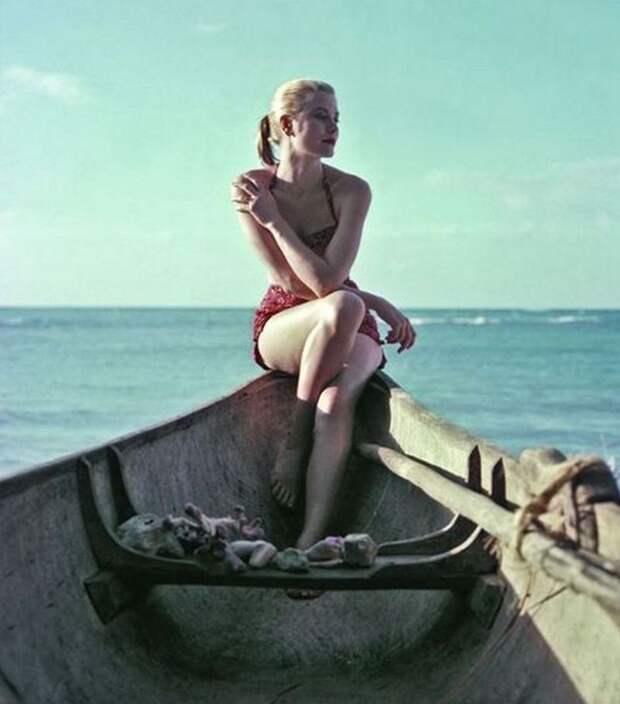 Грейс Келли в фотосессии Хауэлла Конанта, 1955 год