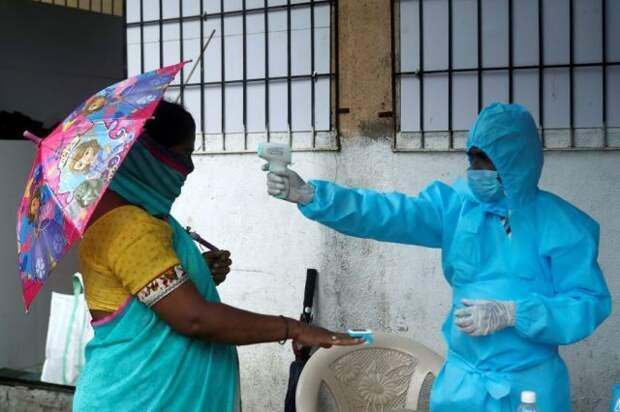 Индия установила новый антирекорд по числу заболевших COVID-19