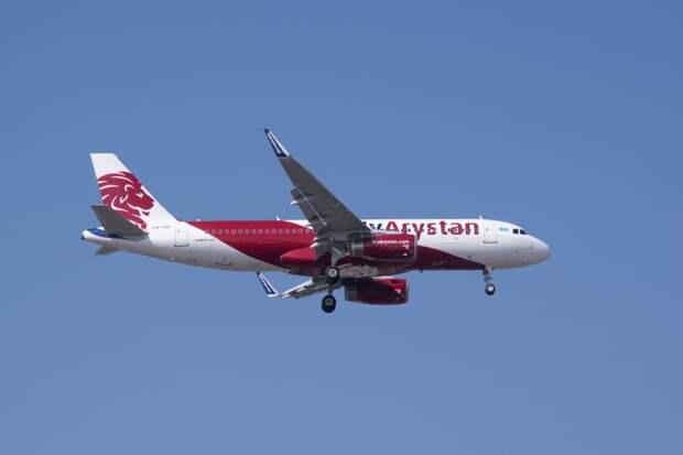 Вылетевший в Алматы самолет развернули обратно в аэропорт Нур-Султана