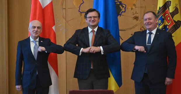 Украина, Грузия и Молдова договорились вместе биться о стену ЕС