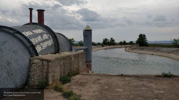 Украинцы удивились заполнением Северо-Крымского канала водой