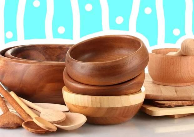 Как мыть деревянную посуду: главные советы