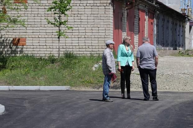 Еще один двор Уссурийска благоустроили по губернаторской программе