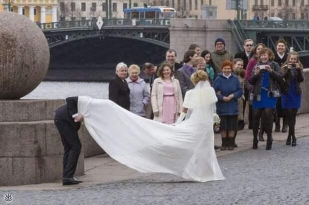 Прикольные свадебные торжества 18