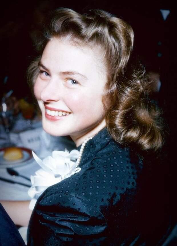 Сегодня день рождения королевы шведского кинематографа — Ингрид Бергман!